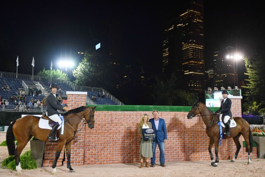 Ward and Kocher tie for Puissance title.