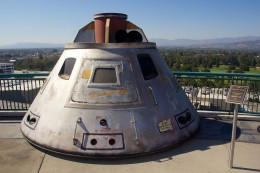 Apollo 13 Space Capsule prop used in the movie.