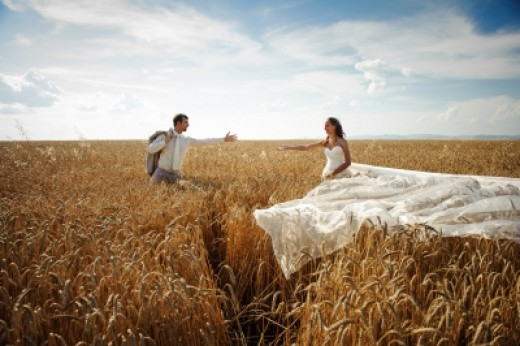 Couples have a Fantasy about marriage, and then fail to put God first in their relationship, grasping across great divides that end up in divorce