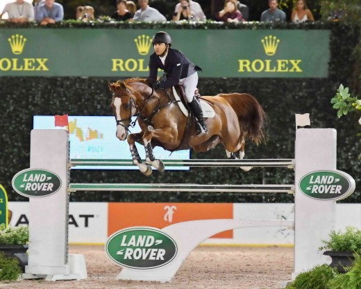 Olympic Silver Medalist Kent Farrington riding Creedance.
