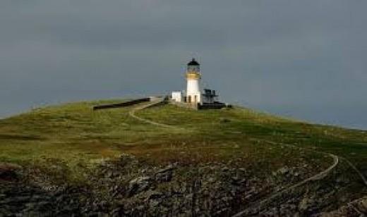 The Lighthouse on Eilean Mor