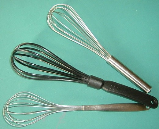 Whisks work better in frosting and icing making as it creates more volume than mixers.