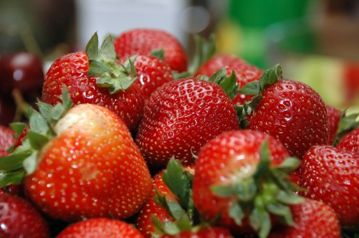 There is nothing as sweet as freshly harvested strawberries. For one their color is already very appealing