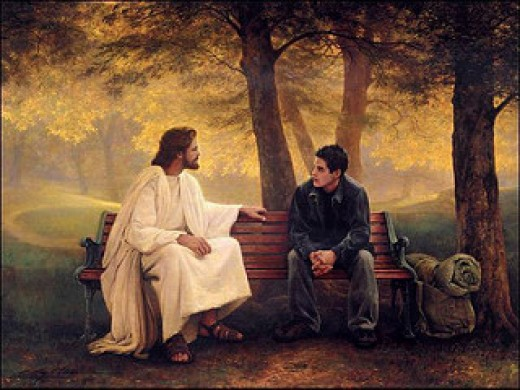 Jesus was wonderful company.