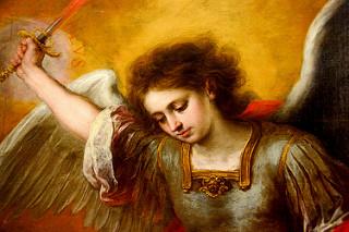 Kunsthistorisches Museum – Archangel Michael  Painted by Estéban Bartolomé Murillo