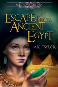 Book Review: Escape from Ancient Egypt (The Neiko Adventure Saga Book 2) by A.K. Taylor