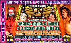 CMLL Super Viernes Preview: Reyes del Aire Final!