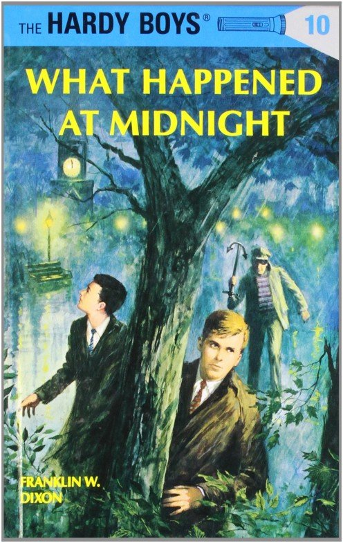 Volume 10 of the Hardy Boys Mystery Stories