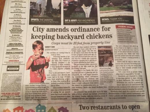 Local Allen American Newspaper