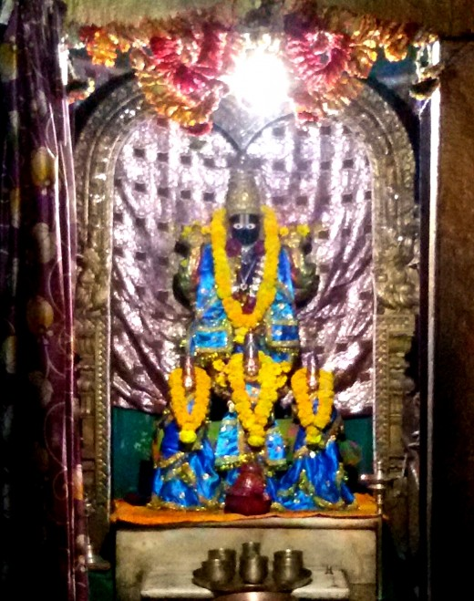 The main deity of Devraja Perumal