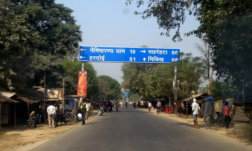 Road to Naimisharanya