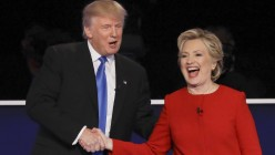 If you watched the first debate between Hillary and Trump, who do you think came out ahead and why?