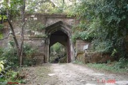 Entrance to Bandhavgarh Fort
