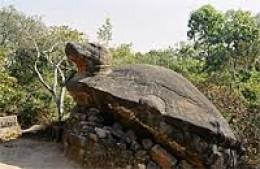 Vishnu in Turtle Idol