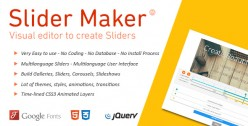 Slider Maker - Create jQuery Slideshows