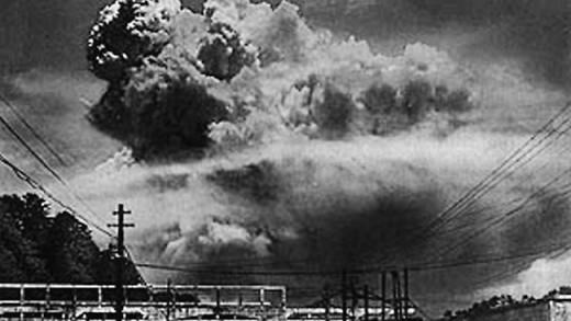 Nagasaki Bombing during WWII