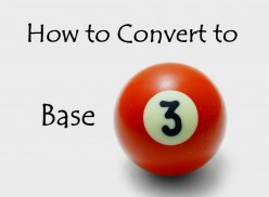 How to Convert a Number to Base-3