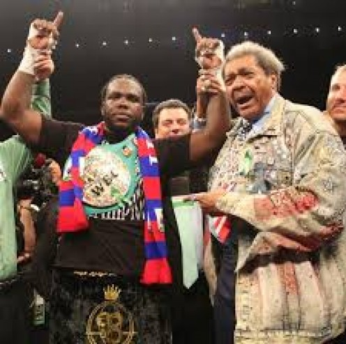 Bermane Stiverne is the former heavyweight champion of the world and a part of Don King's stable of fighters.