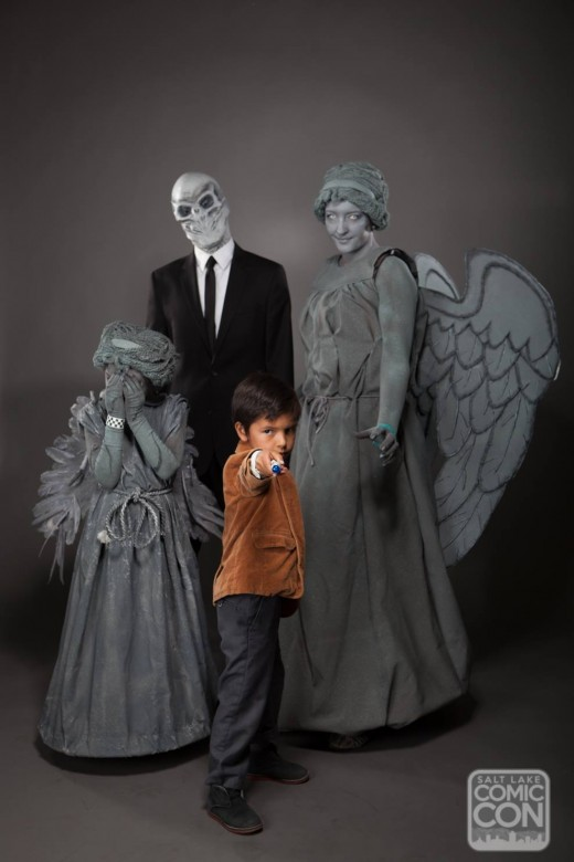 Dr. Who family costume.