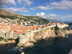 View of Dubrovnik from the Fort.