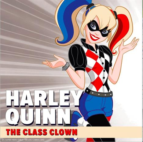 copyright DC Superhero Girls