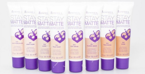 Stay Matte foundation - By Rimmel