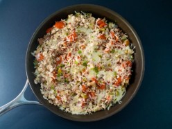 Beef and Rice Skillet Recipe