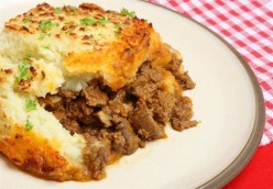 Hot and Hearty Gluten Free, Kosher Italian-Style Shepherd's Pie
