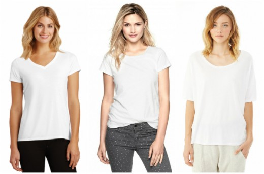 From left to right: NYFifth Apparel, GAP, Alternative