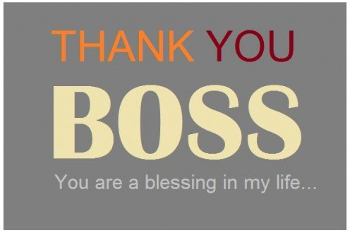 Thank-You Notes and Appreciation Messages to a Boss or ...
