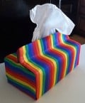 3 Sizes: Free Patterns and Tutorial for Tissue Box Covers