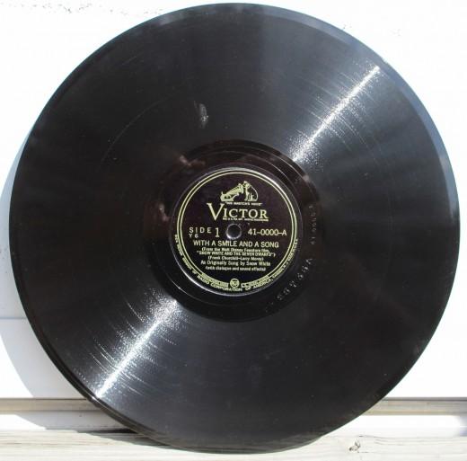Shellac Record