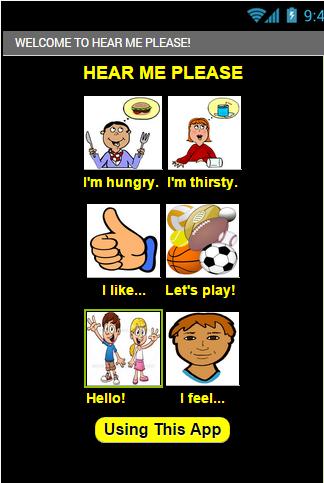 Creative learning app for learning speaking skills