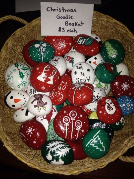 Holiday And Seasonal Stone Art An Idea That Jingle Bell Rocks Hubpages