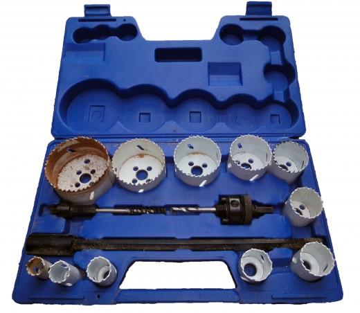 Drill Holesaw Set