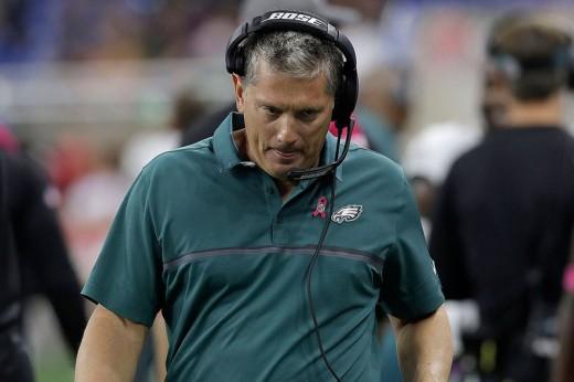 Philadelphia Eagles defensive coordinator Jim Schwartz did not have a good return to Detroit