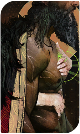 Blackwall's romance tarot card