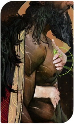 Blackwall's romance tarot card