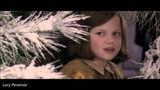 Lucy in  the movie Chronicles of Narnia