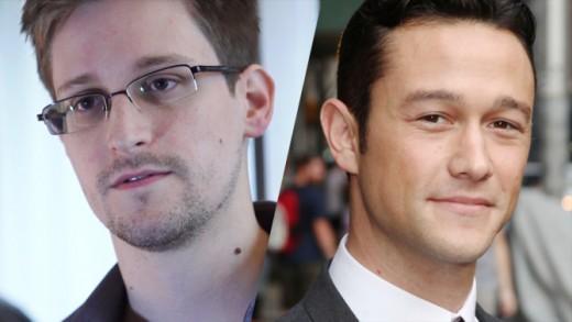 Edward Snowden & Joseph Gordon-Levitt