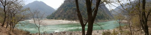 Holy Ganges at Rishikesh