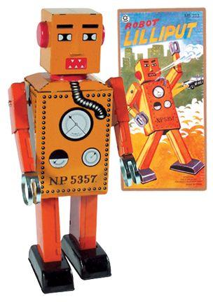 1st Robot Lilliput