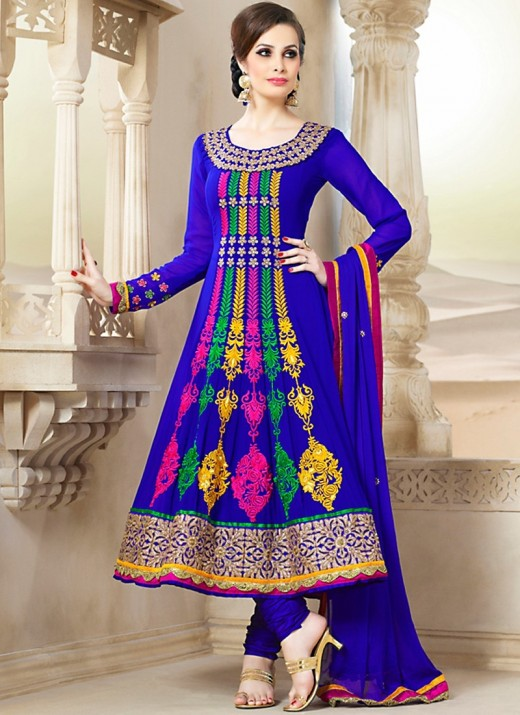 Ghagra Choli is a dress, which is popular in the northern part of the country.