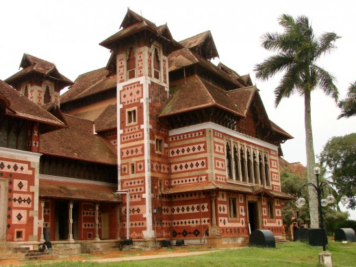 British Colonial Architecture on Zoo Grounds, Trivandrum, Kerala.