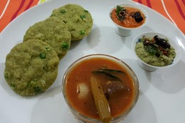Health Green Suji Idli