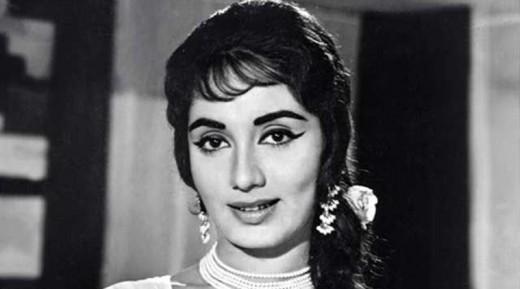 Indian actress Sadhana
