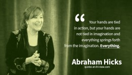 Esther Hicks & Abraham: Teachings may seem simplistic; but also pretty spot-on when you think about how much we use our imagination & emotions for SO MANY things. It makes sense that they play a more important role in our lives than we realize.