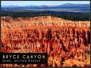 Postcard of Bryce Canyon provided by Utah Travel Guide