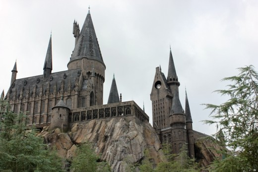 Castle, Wizarding World of Harry Potter Universal Studios Islands Of Adventures