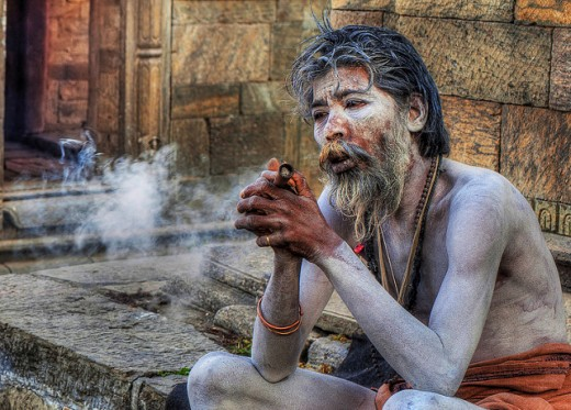 Aghoris - original hatha yogis and Shiva worshipers - do you really think practices such as having sex with cadavers and smoking marijuana lead to God?